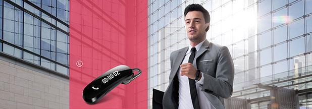 Huawei TalkBand B1 Hybrid Smartband - Black