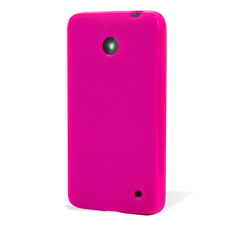 coque nokia lumia 635 630 flexishield rose. Black Bedroom Furniture Sets. Home Design Ideas