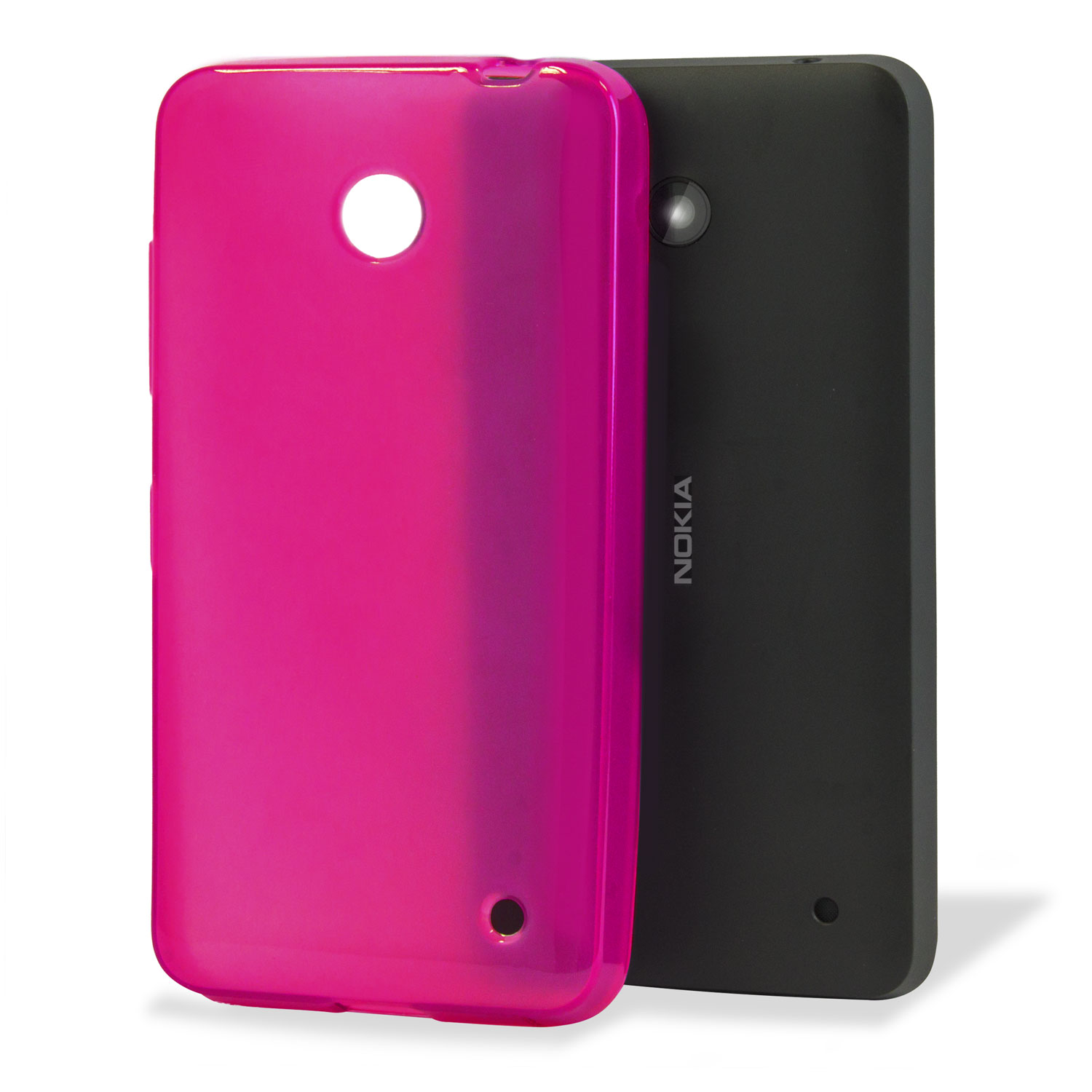 Flexishield Nokia Lumia 635 / 630 Gel Case - Hot Pink