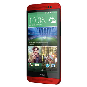 SIM Free HTC One E8 - 16GB - Electric Crimson