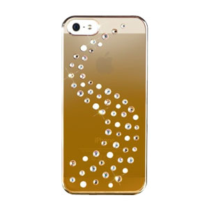 Bling My Thing Milky Way iPhone 5S / 5 Mirror Case - Gold