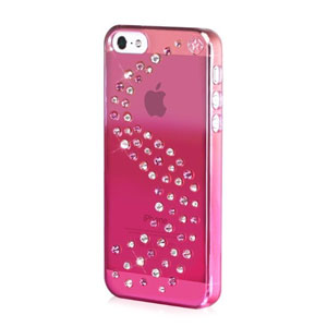 Bling My Thing Milky Way iPhone 5S / 5 Mirror Case - Pink