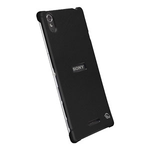 Krusell Malmo Texturecover Sony Xperia T3 Case - Black