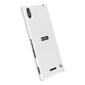 Krusell Malmo Texturecover Sony Xperia T3 Case - White