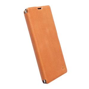Krusell Kiruna Flipcover Sony Xperia T3 Case - Camel