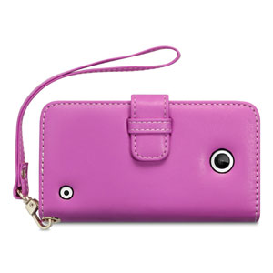 Nokia 630 / 635 Leather-Style Wallet Case -  Pink
