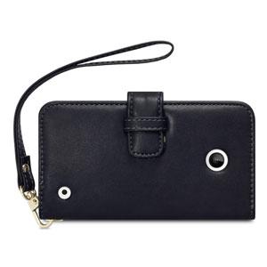 Nokia 630 / 635 Leather-Style Wallet Case -  Black