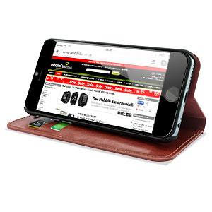 Encase iPhone 6 Wallet Case - Brown