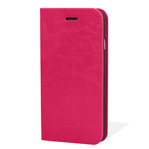 Encase Leather-Style iPhone 6 Wallet Case - Hot Pink