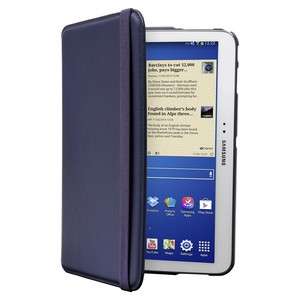Targus Samsung Tab 4 10.1 Rotating Leather-style Case - Blue