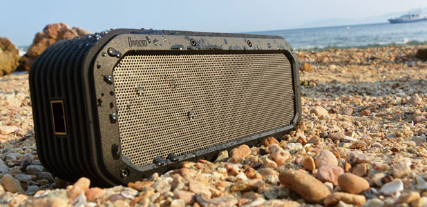 Divoom Voombox Outdoor Rugged Portable Bluetooth Speaker - Black