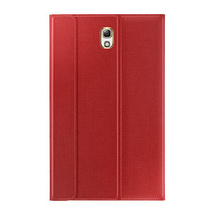 Official Samsung Galaxy Tab S 8.4 Book Cover - Glam Red