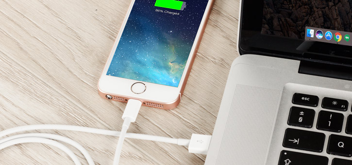 iPhone 5S / 5C / 5 Lightning to USB Sync & Charge Cable - White