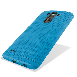 FlexiShield Dot LG G3 Case - Dark Blue