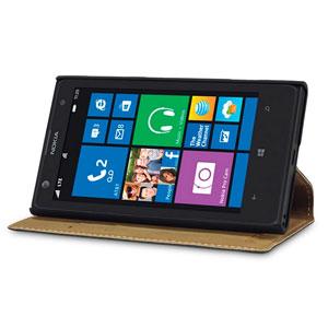 Terrapin Leather-Style Nokia Lumia 1020 Wallet Case