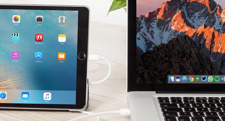 Olixar iPad Pro 10.5 Lightning till USB Laddnings & Synk Kabel - 1m