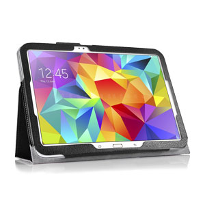 Encase Leather Style Samsung Galaxy Tab S 10.5 Stand Case - Black