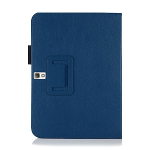 Encase Leather Style Samsung Galaxy Tab S 10.5 Stand Case - Blue