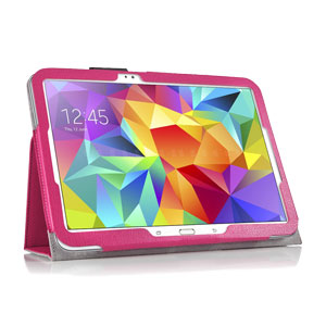 Encase Leather Style Samsung Galaxy Tab S 10.5 Stand Case - Pink