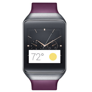 Samsung Gear Live Smartwatch - Wine Red