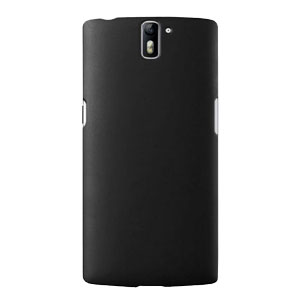 ToughGuard OnePlus One Rubberised Case - Black