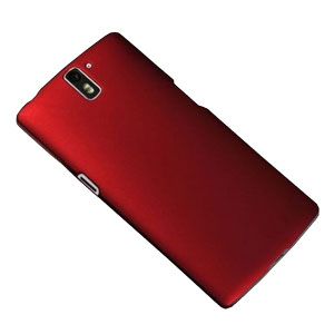 ToughGuard OnePlus One Rubberised Case - Red
