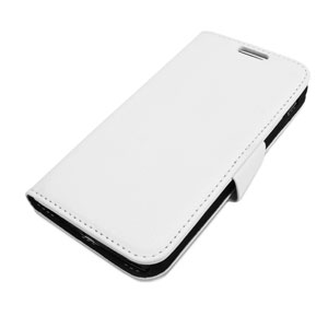 Encase Premium Wallet Stand Nexus 5 Case - White