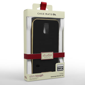 Case-Mate Slim Tough Case for Samsung Galaxy S5 Mini - Black / Gold