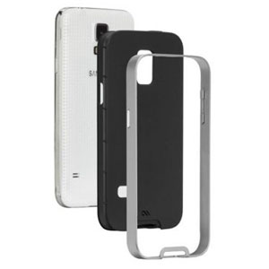Case-Mate Slim Tough Case for Samsung Galaxy S5 Mini - Black / Silver