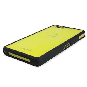 Flexiframe Hybrid Sony Xperia Z1 Compact Bumper Case - Black