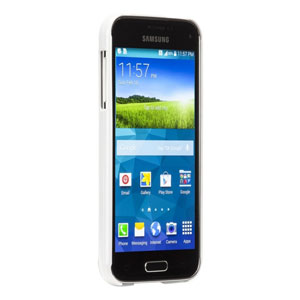 Case-Mate Galaxy S5 Mini Barely There Case - White
