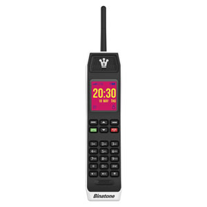 The Brick 80s Retro Mobile Phone