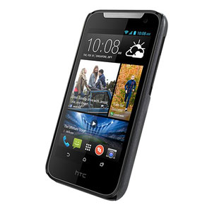 Metal-Slim Pearl HTC Desire 310 Protective Case - Black