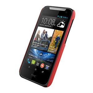 Metal-Slim HTC Desire 310 Rubber Case - Red