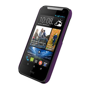 Metal-Slim HTC Desire 310 Rubber Case - Purple