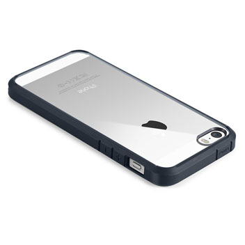 Spigen SGP Ultra Hybrid iPhone SE Case - Metal Slate