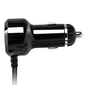 Chargeur Allume-Cigare iPad Air 2 avec Port USB - Noir