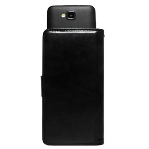 STK Universal 5 inch Smartphone Wallet Case - Black
