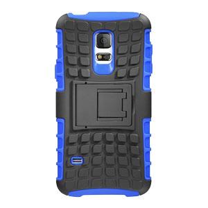 Encase ArmourDillo Samsung Galaxy S5 Mini Protective Case - Blue