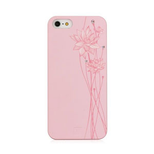 Bling My Thing Ayano Kimura Lotus Flower iPhone 5S / 5 Case - Pink