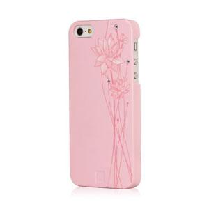 Bling My Thing Ayano Kimura Lotus Flower iPhone 5S / 5 Case - Pink