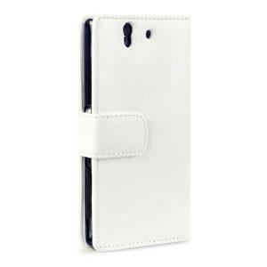 Adarga Sony Xperia Z Wallet Case - White