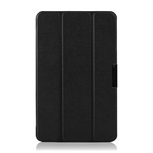 Encase Leather Style Samsung Galaxy Tab S 8.4 Folio Stand Case - Black