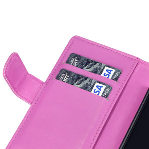 Adarga Sony Xperia Z Wallet Case - Hot Pink