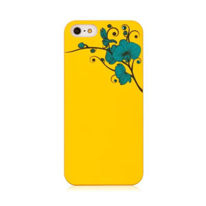 Bling My Thing Ayano Kimura Orchid iPhone 5S / 5 Case - Yellow