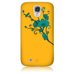 Bling My Thing Ayano Kimura Orchid Galaxy S4 Case - Yellow