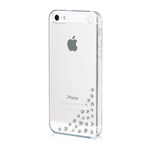 Bling My Thing Diffusion iPhone SE Case - Crystal