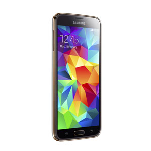 Sim Free Samsung Galaxy S5 - Gold - 16GB