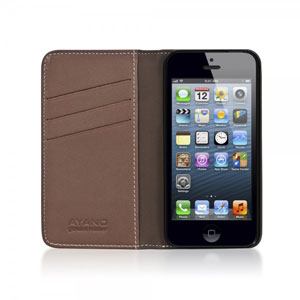 Bling My Thing Mystique Stripe iPhone 5S / 5 Case - Brown
