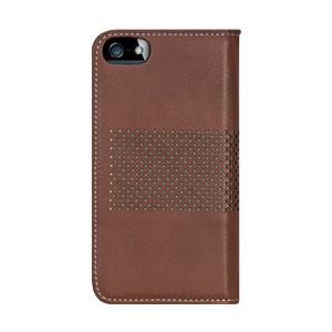Bling My Thing Infinity Dots iPhone 5S / 5 Case - Brown / White